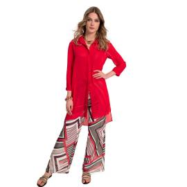 EDAS Galeone woman red pant