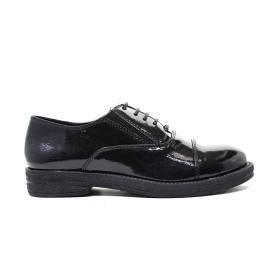 Francesco Milano Wingtip shoe Woman M025L-NEY NERO