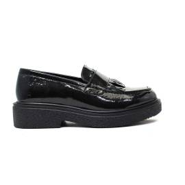 Francesco Milano Loafer Women Low M034L-NEY BLACK