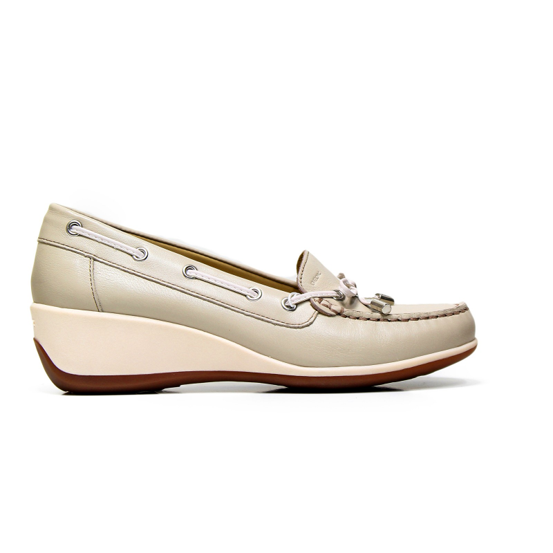 GEOX moccasin woman D621SA 00085 C6738 color taupe 71897ab35cd