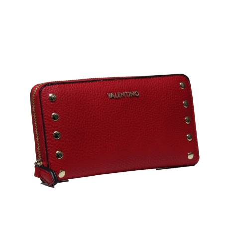 Valentino Handbags VPS1OW155 LUCY RED women's wallet with zip closure