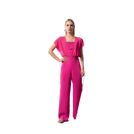 EDAS Luxury Casia woman suit with belt and bright details