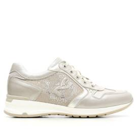 WOMEN'S LEATHER/SUEDE TRAINERS ARTICLE P615092D 505 SAVANA