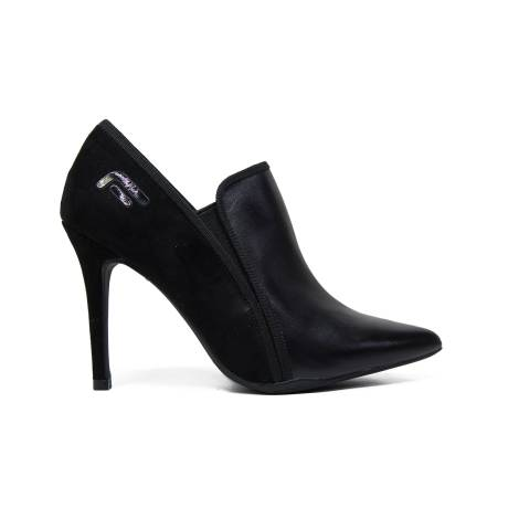 Fornarina ankle boots with skinny high heels black color era-black article PIFEW9591WCA0000