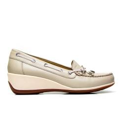 GEOX moccasin woman D621SA 00085 C6738 color taupe