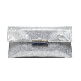 Albano 709 NEW PARTY clutch bag woman with silver lurex effect