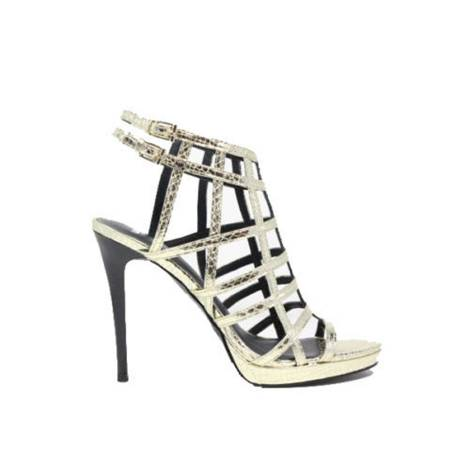 Womens jeweled sandals Versace Jeans