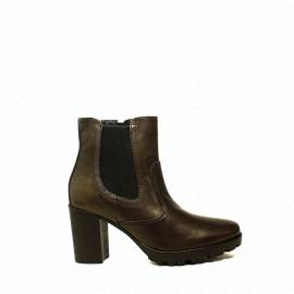 Raquel Perez ankle boot woman with high heel color nicotine article jasmine 37