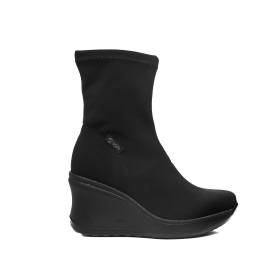 Agile by Rucoline ankle boot high wedge black color article 182 a nene'
